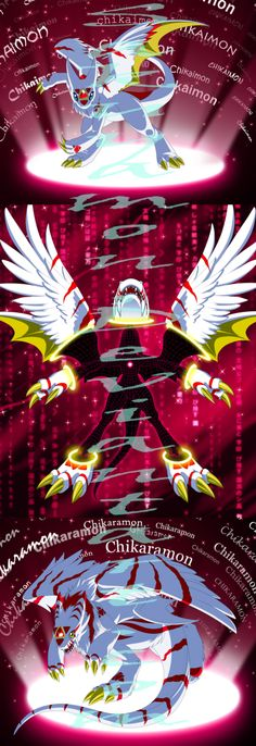 Initiate...D....D....Digivolution. by Sakuyamon.deviantart.com on @deviantART