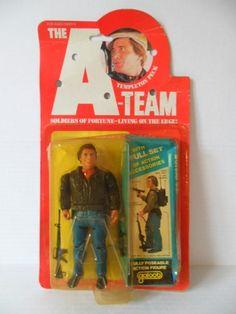 """A-Team: 6"""" Face (1983)"""