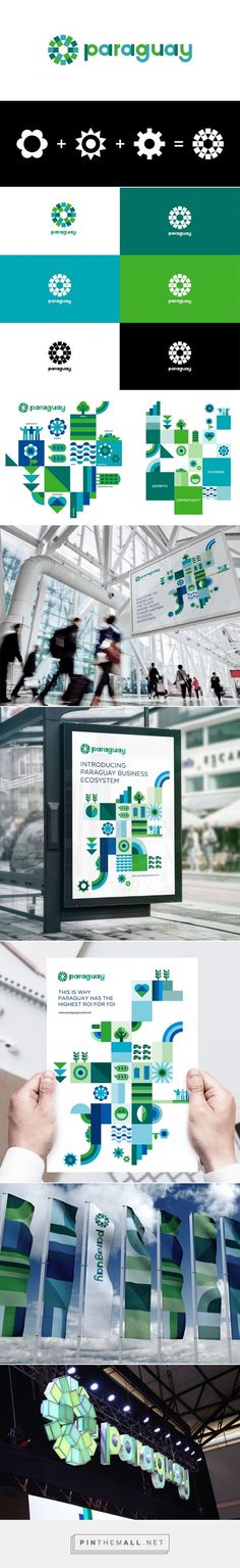 Brand New: New Logo and Identity for Paraguay by Kausa, UMA, and Bloom Consulting... - a grouped images picture - Pin Them All
