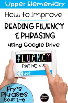Do you have struggling readers? These digital Reading Fluency Activities and Assessment for 3rd, 4th and 5th grade from Frys Phrases are engaging and perfect for a quick reading intervention. Made to use with Google Drive or Google Classroom Great for Distance learning