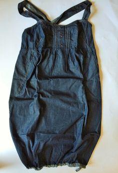 VESTITO IN DENIM A CANOTTIERA: http://hipmums.it/collections/premaman/products/vestito-estivo-premaman