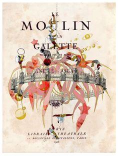Delphine Lebourgeois - Le Moulin De La Galette on www.eyestorm.com