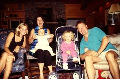 Young Lana Del Rey (far left) with family #LDR #Lizzy_Grant (this is probably from when she went to live with her aunt and uncle to get clean)