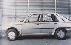 OG | 1985 Peugeot 309 / Talbot Arizona - C28 Project | Full-size clay model