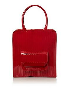 Ted Baker 'Juju' red tote, £139.  Absolutely amazing shoulder tote with cute little outside pocket for grab-n-go items. Perfection!  http://crownstreetbrentwood.co.uk/blog/autumn-winter-2012-fashion-trends-red-hot/