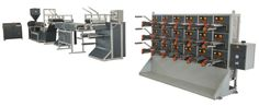 """Ocean Extrusions has developed """"T"""" die string (sutli) plants/suitable for pp synthetic jute. Due to 'T' die system, machine gives high production of sutli."""