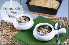 sausage kale bean soup picm thumb Sausage, Kale, and Bean Soup