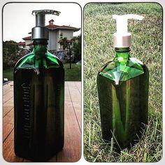 A gift for my brother.. #soap #bottle #jagermeister #diy #handmade #tolgarifatdesign