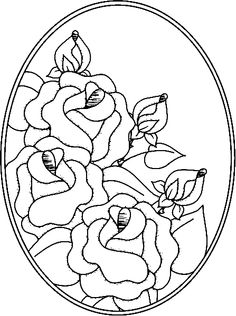 Parchment Craft Stained Glass Patterns Digi Stamps Embroidery Hand Quilling Fabric Painting Copic Colouring