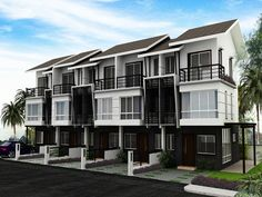 townhouses Small House Design, Detached House, Semi Detached, Town House, Luxury Homes, Community Housing, House Viewing, Townhouse Designs, 2 Story Houses