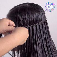 Hair Ponytail Styles, Front Hair Styles, Medium Hair Styles, Easy Hairstyles For Long Hair, Braids For Long Hair, Braided Hairstyles, Hair Style Vedio, Girl Hair Dos, Baddie Hairstyles