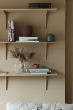 Beige and terracotta living room