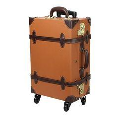 (ファーストドア) 1STDOOR 超軽量スーツケース TSAロック付 (Mサイズ(54L), イエロー)