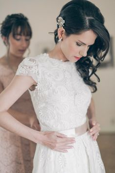 wedding dress idea; photo: Laurie Wilson Of Gather West Photography