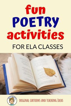 Fun poetry activities for the Secondary ELA classroom that get kids writing poetry and learning about the tools poets use to create poems. Poetry Unit, Writing Poetry, Kids Writing, Writing Rubrics, Paragraph Writing, Opinion Writing, Persuasive Writing, Well Known Poems, Poetry Lessons