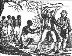 When A Black Man Has No Rights. Artistic depiction of the racist slave system. The profits accrued from the exploitation of Africans fueled the development of the world captialist system.