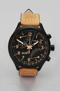 Timex Flyback Chrono Watch  #UrbanOutfitters