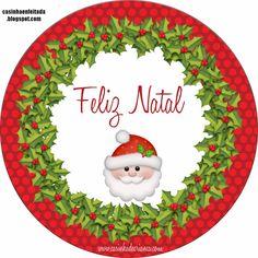 Casinha de Criança: Kit Festa Natal Para Imprimir Grátis