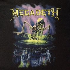 Vintage Megadeth T-Shirt by FreaksceneVintageTs on Etsy