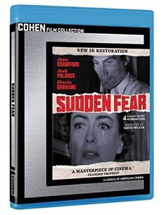 Joan Crawford & Jack Palance & David Miller-Sudden Fear