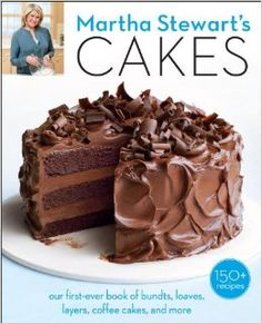 Martha Stewart's Cakes is out! 150 recipes and we don't know where to start.