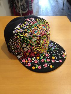AMAZING handmade cap.