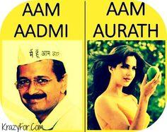 Aam Aadmi Vs Aam Aurath