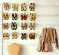 shoe rack idea