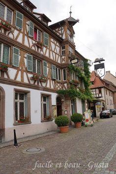 facile et beau - Gusta: Türkheim - Urlaub im Elsass Teil 1