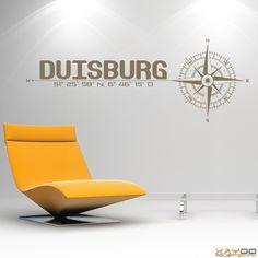 """Wandtattoo """"Stadt Duisburg"""" - 19,95€"""