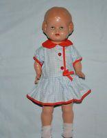 alte  Schildkröt Puppe Bärbel Gr. 34 cm
