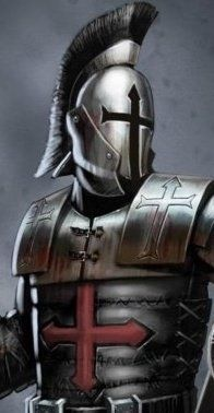 Templar elite Knight-history is art. This is awesome!