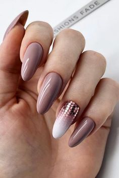 The Best Wedding Nails 2019 Trends ❤︎ Wedding planning ideas & inspiration. Wedding dresses, decor, and lots more. French Manicure Gel Nails, Gel Nails At Home, Nail Polish, Nail Nail, Cute Nails, Pretty Nails, My Nails, Bridal Nails, Wedding Nails