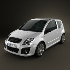 Citroen C2 3d model from humster3d.com. Price: $75