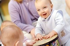 Η ενασχόληση των βρεφών και των παιδιών με τη Μουσική