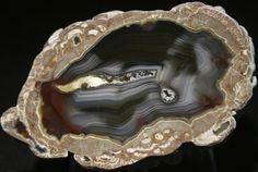 Spanish Stirrup Rock Shop: Thunderegg / Geode - Baker Ranch - New Mexico - Product BR3171
