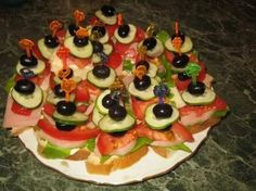 закуски на праздничный стол рецепты с фото: 25 тыс изображений найдено в Яндекс.Картинках