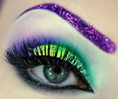 Glitter brows and lashes What is Makeup ? What's Makeup ? Generally, what's makeup ? Glitter Brows, Glitter Makeup, Glam Makeup, Beauty Makeup, Glitter Eyeshadow, Face Makeup, Eyeliner, Makeup Eyeshadow, Dramatic Eyeshadow