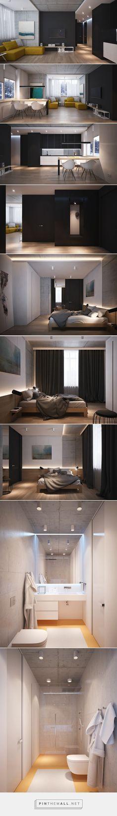 4 beautiful dark themed homes