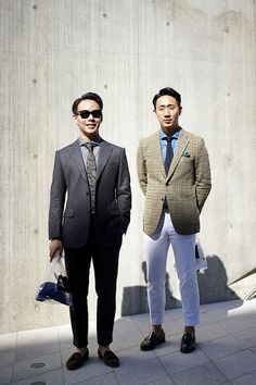 Casual Suiting, Urban Style, Men's Spring Summer Fashion.