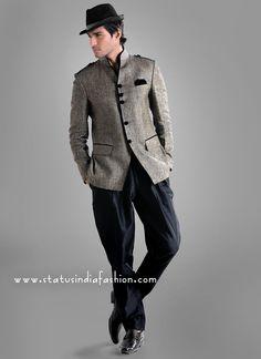 Men New Designer Jodhpuri Suit www.statusindiafashion.com