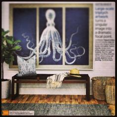 Our bench featured in House & Home Magazine