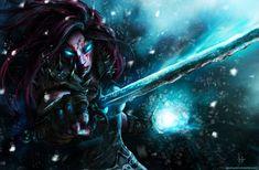 Frost Death Knight : Senryu by Kalkri.deviantart.com on @DeviantArt