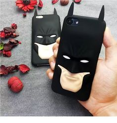 New Batman Phone Case for iPhone 5s 6 6s 7 plus or Software Silicone Phone Case or black Anti-knock Phone Case or phone bag case