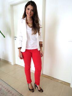 Look Inspiração – Blazer Branco  http://blog.maosdaterrabrasil.com.br/?p=1634