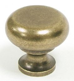 Top Knobs Cabinet Hardware Somerset II Collection Flat Faced Round Knob 1 1/4