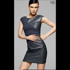 #bailey44 #marinamall #greenbird #couture #abudhabi #abudhabistyle #abudhabifashion #abudhabistyle #dubai #dubaifashion #dubaistyle #womenswear #fall2013 #winter2014 #fw2014 #prefall #pixie #fashionista #navyblue #navyblueleather #leather #navybluedress #leatherdress #fitted #mod #cocktaildress #minidress