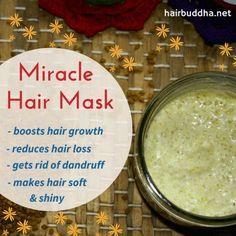 miracle hair mask : fenugreek and yogurt