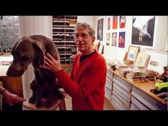 Wonderful film about Bill Wegman -- In the Company of Animals: William Wegman on Dogs and Photography
