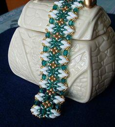 Annelies bracelet beaded by my Beading Friends- Beading Tutorials